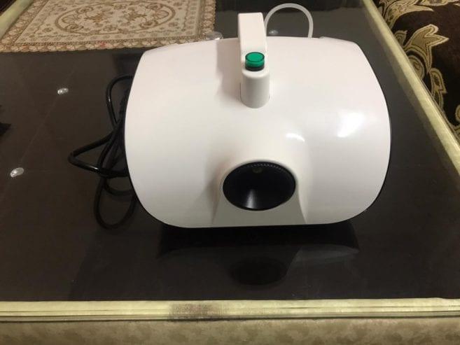 Sanitizer-spray-machine