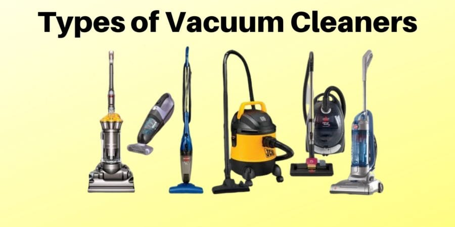 Types-of-Vacuum-Cleaners