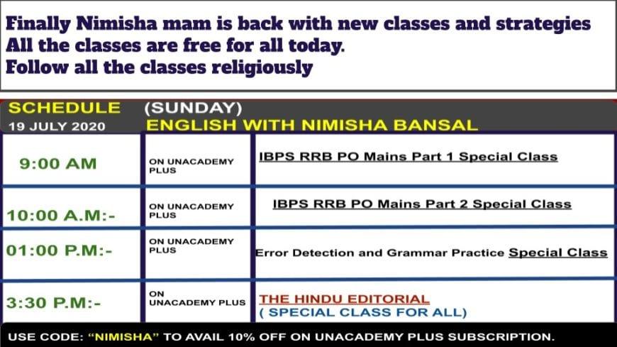 Nimisha-Bansal-Classes