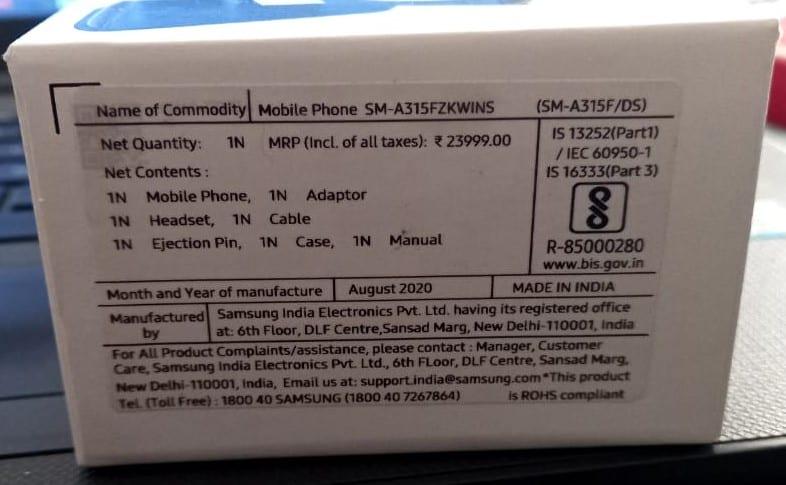 Samsung-A31-Box1